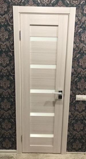 межкомнатные двери сплошные белые купить