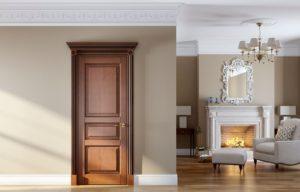двери из натурального шпона разновидности