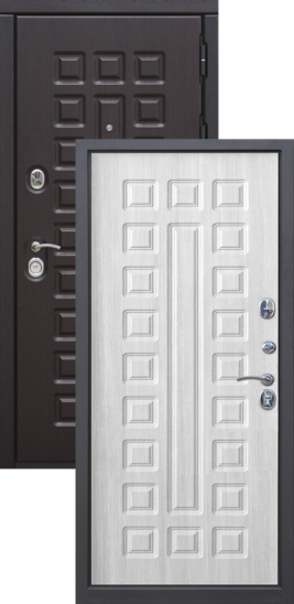 металлические двери цена на модель Монарх