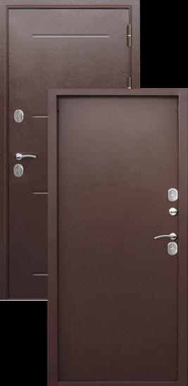 где купить металлическую дверь ISOTERMA медный антик