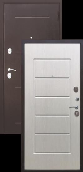 металлические двери купить цена модели Гарда медный антик