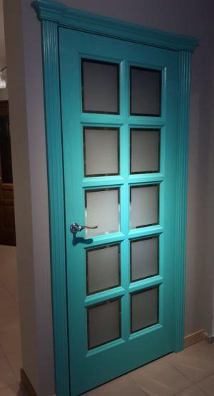 межкомнатные двери зеленые купить