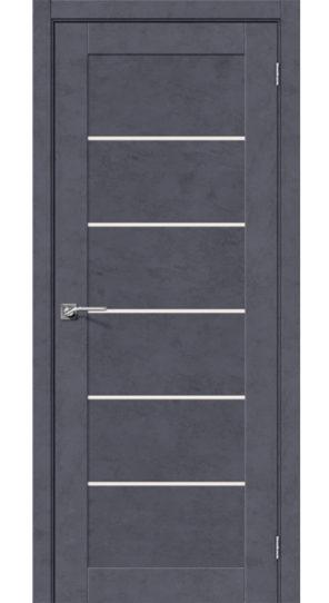 межкомнатная дверь из экошпона легно 22 графит