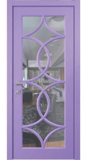 дверь межкомнатная астория стекло